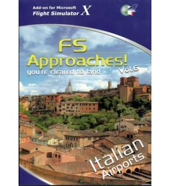 FS Approaches Vol. 6 Italian Airports