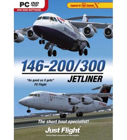 Just Flight BAe 146-200/300 Jetliner