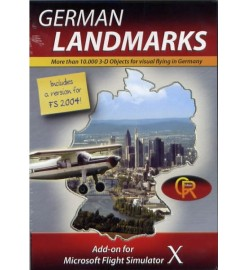 German Landmarks X (FSX)